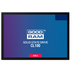 "GOODRAM SSD CL100, 120GB, 2.5"", SATA III"