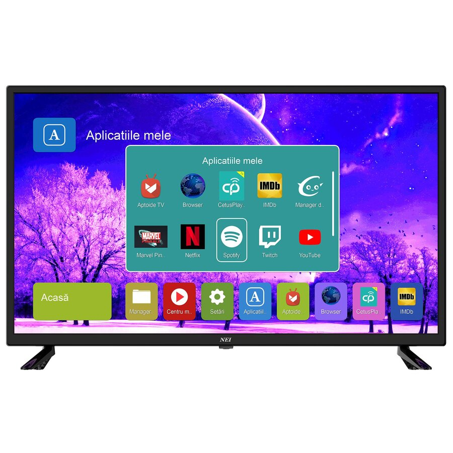 Televizor Led Nei 32ne4505, 81cm, Smart Tv Hd Ready