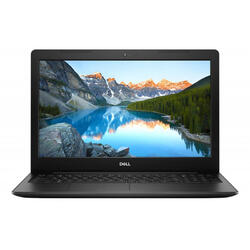 "Laptop DELL 15.6"" Inspiron 3583 (seria 3000), FHD, Intel Core i5-8265U , 8GB DDR4, 256GB SSD, Radeon 520 2GB, Linux, Black"