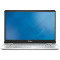 Laptop DELL 15.6'' Inspiron 5584, FHD, Intel Core i5-8265U , 8GB DDR4, 256GB SSD, GeForce MX130 2GB, Linux, Platinum Silver