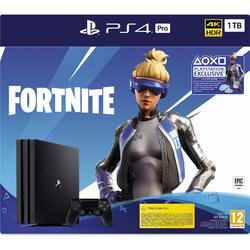 Sony Consola Playstation 4 PRO,Fortnite Neo Versa Bundle, 1TB, Negru
