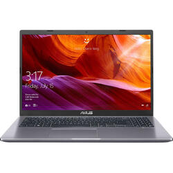 Laptop ASUS 15.6'' X509FA, FHD,  Intel Core i3-8145U , 4GB DDR4, 256GB SSD, GMA UHD 620, Endless OS, Grey