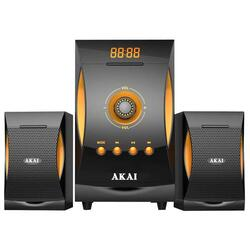 Sistem audio 2.1 AKAI MP3/SD 18W+10Wx2