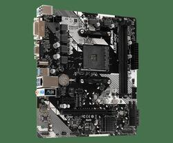 ASROCK Placa de baza Socket AM4, A320M-HDV R4.0