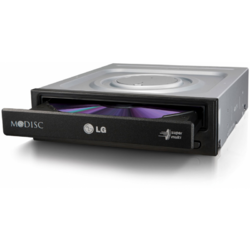 LG Unitate optica interna DRW HLDS GH24NSD5, DVD-Writer, Black, Bulk