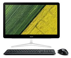 """Sistem All-In-One Acer 23.8"""" Aspire Z24-880, FHD, Procesor Intel® Core™ i3-7100T 3.4GHz Kaby Lake, 4GB, 128GB SSD, GMA HD 630, Endless OS"""