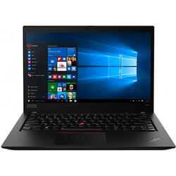 Laptop Lenovo 14'' ThinkPad T490s, FHD IPS, Intel Core i5-8265U , 8GB DDR4, 256GB SSD, GMA UHD 620, Win 10 Pro, Black