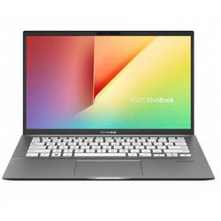 "Laptop Asus VivoBook S14 S431FA, 14"" Full HD, Intel Core i5-8265U, RAM 8GB, SSD 256GB, No OS, Grey"