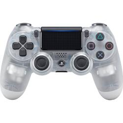 Controller Sony Wireless Dualshock 4 V2 pentru PS4, Crystal