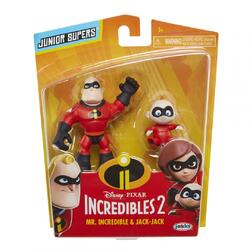 INCREDIBLES 2 SET 2 FIG. DL. INCREDIBIL SI JACK-JACK