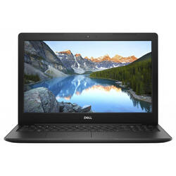 Laptop DELL 15.6'' Inspiron 3582 (seria 3000), HD, Intel Pentium Silver N5000, 4GB DDR4, 1TB, GMA UHD 605, Linux, Black