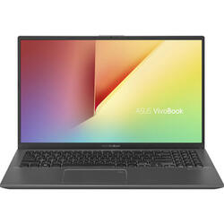 Laptop ASUS 15.6'' VivoBook 15 X512FA, FHD, Intel Core i5-8265U , 8GB DDR4, 512GB SSD, GMA UHD 620, No OS, Slate Gray