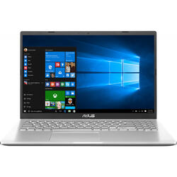 Laptop ASUS 15.6'' X509FB, FHD, Intel Core i5-8265U , 8GB DDR4, 512GB SSD, GeForce MX110 2GB, Win 10 Pro, Silver