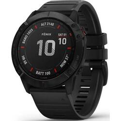 Ceas Smartwatch Garmin Fenix 6X Pro, 51 mm, Black