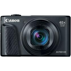 Aparat foto digital Canon Powershot SX740HS, 20.3MP, 4K, Negru