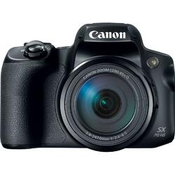 Aparat foto digital Canon Powershot SX70HS, 20.3MP, 4K, Negru