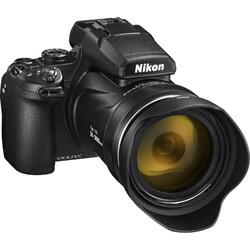 Aparat foto digital Nikon COOLPIX P1000, 16 MP, Zoom 125x, Black