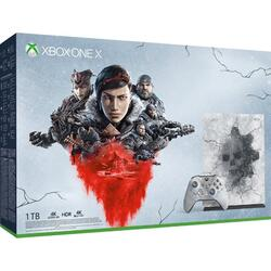 Consola Microsoft Xbox One X 1TB Limited Edition + Gears 5 Ultimate Edition (plus Gears of War Collection)