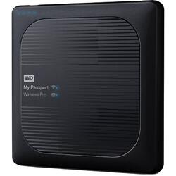 Hard disk extern WD My Passport Wireless Pro 4TB USB 3.0 Black