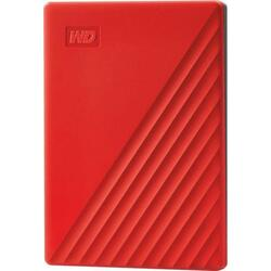 Hard disk extern WDC My Passport 2TB USB 3.2 2.5 inch Red