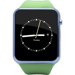 Ceas Smartwatch E-BODA Smart Time 310, Silicon, Verde