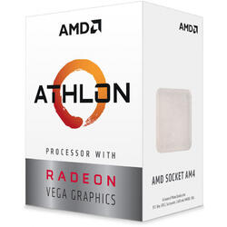 AMD Procesor Athlon 3000G 2-Core Vega 3.5GHz 5MB AM4