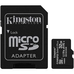 Card de memorie Kingston 32GB micSDHC Canvas Select Plus 100R A1 C10