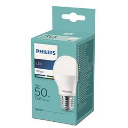 Philips Bec LED 7W (50W), E27, temperatura culoare 3000K