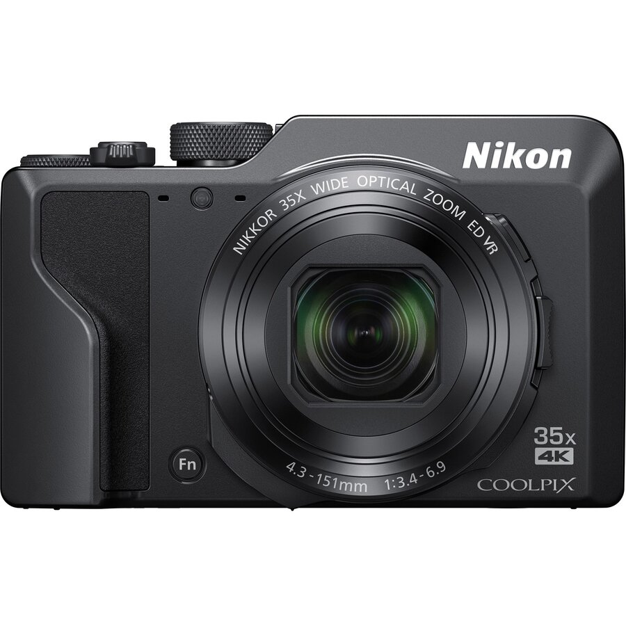 Aparat Foto Digital Nikon Coolpix A1000, 16 Mp, Negru