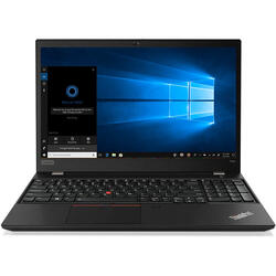 "Laptop Lenovo ThinkPad T590, Intel Core i7-8565U, 15.6"" UHD, 16GB DDR4, 512GB SSD, GeForce MX250 2GB, Windows 10 Pro, Black"