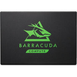 Seagate SSD BarraCuda 120, 250GB, SATA 2.5, R/W speed: 560/540 MB/s