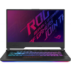 Laptop ASUS Gaming 15.6'' ROG Strix G G531GT, FHD 120Hz, Intel Core i7-9750H, 8GB DDR4, 256GB SSD, GeForce GTX 1650 4GB, No OS, Black