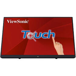 Monitor LED ViewSonic TD2230 Touchscreen 21.5 inch 5ms Negru