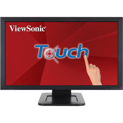 Monitor LED ViewSonic TD2421 Touchscreen 23.6 inch 5ms Negru