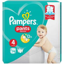 Scutece Pampers Active Baby Pants 4 Carry Pack, 24 bucati