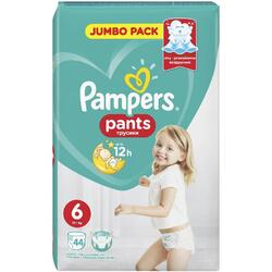 Scutece Pampers Active Baby Pants 6 Jumbo Pack, 44 bucati
