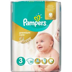 Scutece Pampers Premium Care 3 Midi Small Pack, 20 bucati