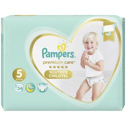 Scutece Pampers Premium Care Pants 5 Value Pack, 34 bucati