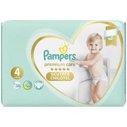 Scutece Pampers Premium Care Pants 4 Value Pack, 38 bucati
