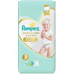Scutece Pampers Premium Care Pants 5 Mega Box, 52 bucati