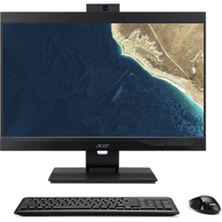 Sistem All-In-One Acer VZ4860G, 23.8 inch FHD, Intel Core i5 9400, 8GB, 256GB SSD, UHD 630, Win 10 Pro