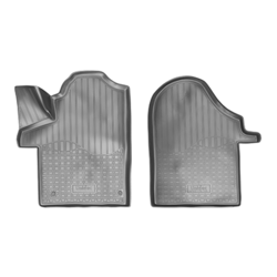 UMBRELLA SET COVORASE AUTO CAUCIUC FIT MERCEDES-BENZ V (W447) 3D (2014) (FATA) - 2 PCS