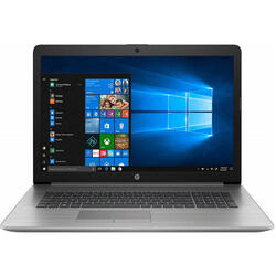 Laptop HP 17.3'' ProBook 470 G7, FHD, Intel Core i5-10210U, 8GB DDR4, 1TB + 128GB SSD, Radeon 530 2GB, Win 10 Home, Silver