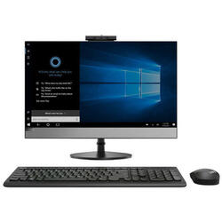 "Sistem All-In-One Lenovo V530, 23.8"" Full HD, Intel Core i3-9100T, 8GB, 256GB SSD, Windows 10 Pro, Black"