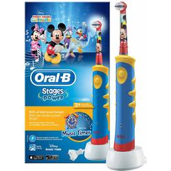 Oral-B Periuta electrica Kids Stages Mickey D10-513, 5600 oscilatii/min, multicolor
