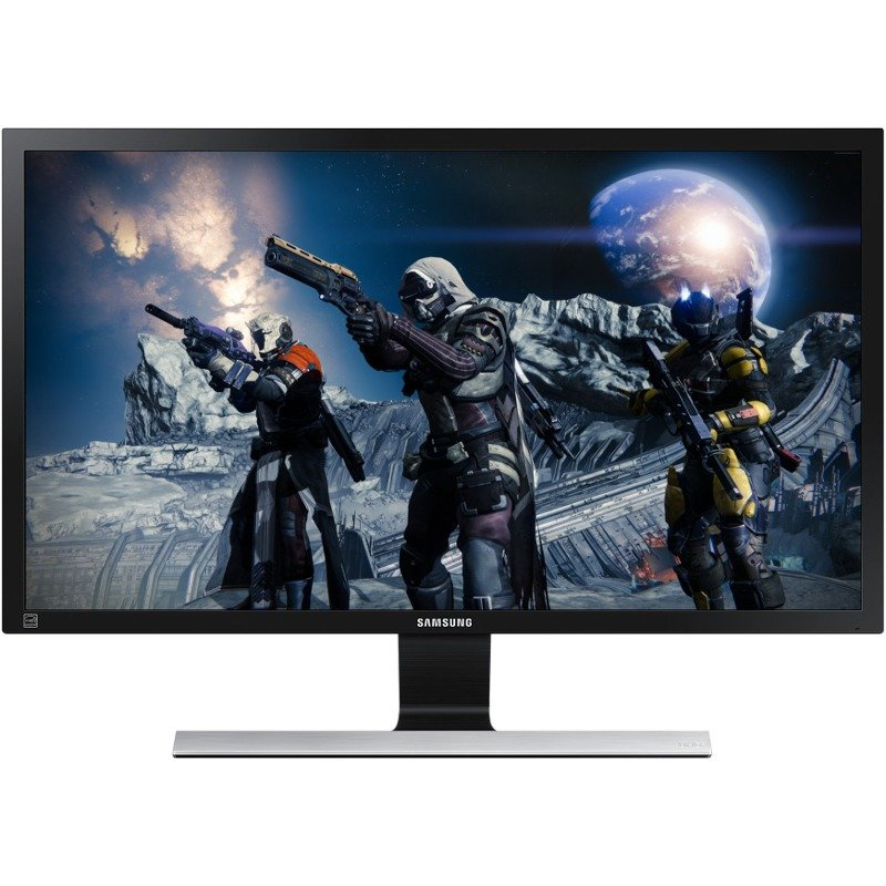 Monitor LED Samsung Gaming LU28E570DS 28 inch 4K 1 ms Black FreeSync