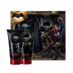 DC Comics Set cadou Batman vs Superman gel de dus 150 ml + sampon 150 ml