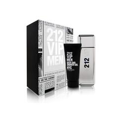 Carolina Herrera Set cadou barbati 212 VIP Men apa de toaleta 100 ml + gel de dus 100 ml
