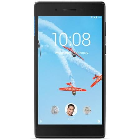 Tableta Lenovo TAB 4 TB-7304X, 7 inch IPS Multitouch, Cortex-A53 1.1GHz Quad Core, 1GB RAM, 16GB flash, Wi-Fi, Bluetooth, 4G, Android 7.0, Black