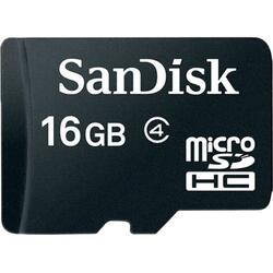 SanDisk Card Micro SD 16GB, include adaptor